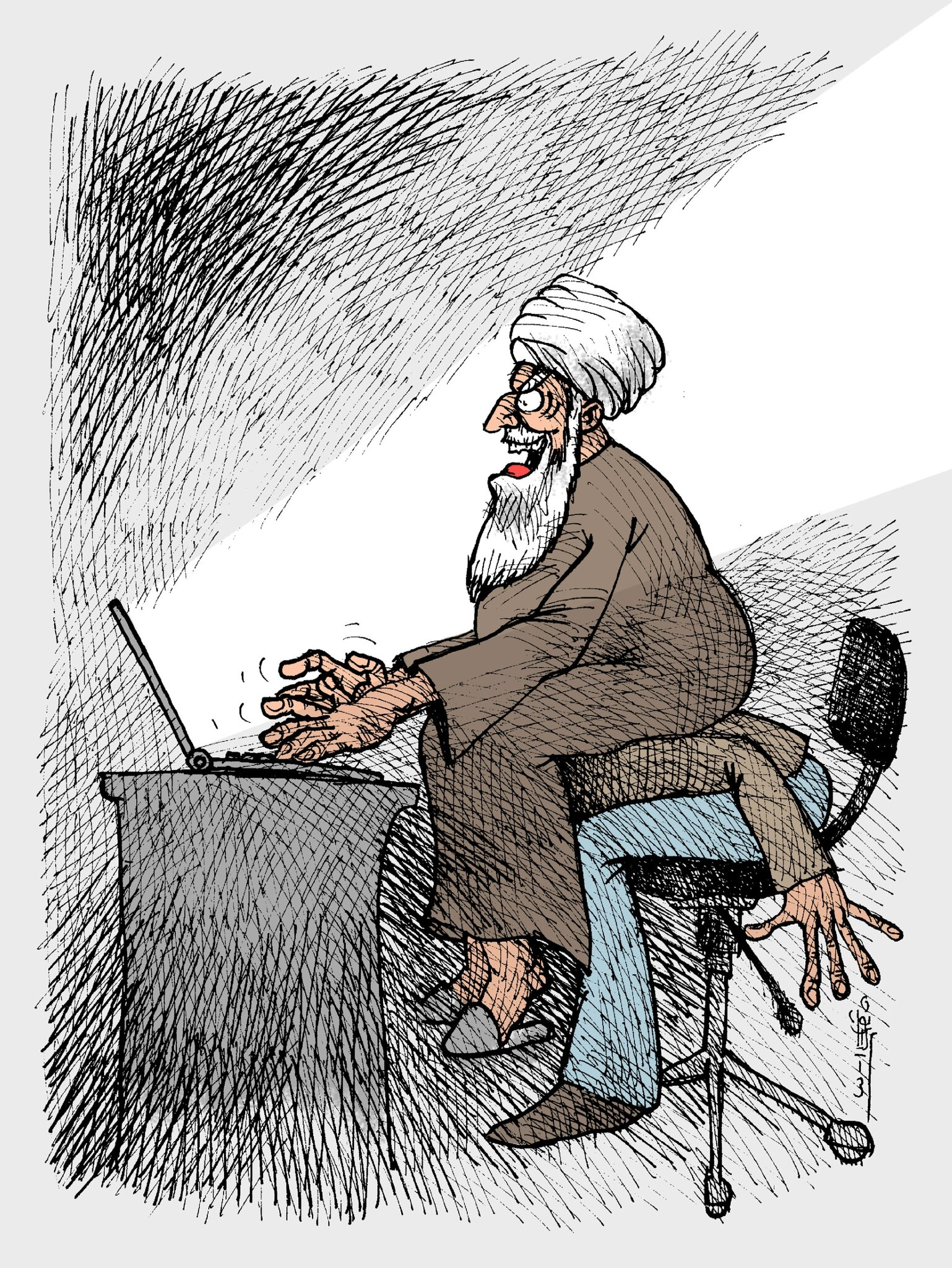 Twitter and facebook-free for the president-blocked for the Iranians