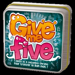 Boutique jeux de société - Pontivy - morbihan - ludis factory - Give me five