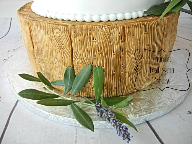 wedding cake nature lavande olivier bois prunillefee 3