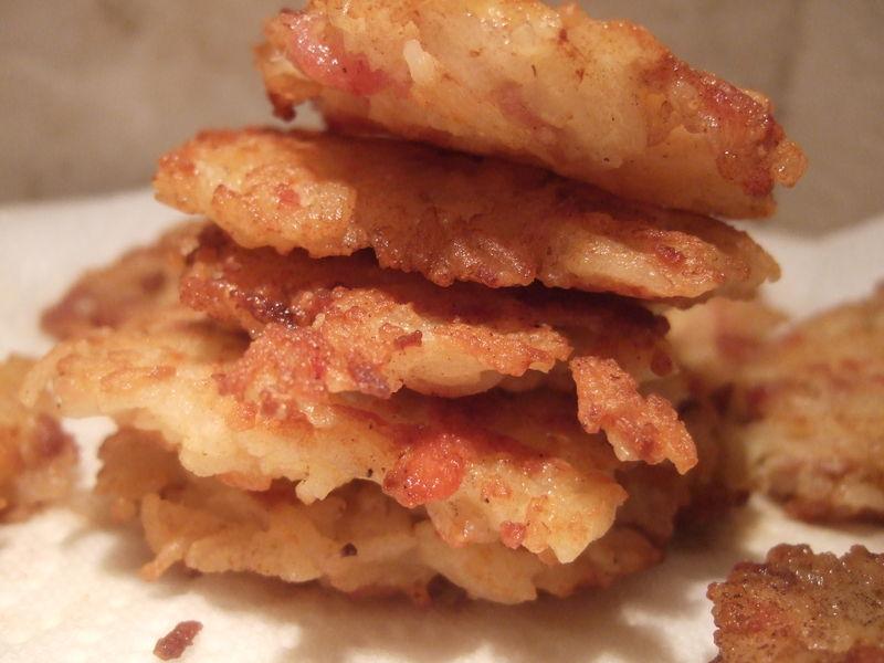 Blinis de riz jambon et parmesan dans la cuisine de fabienne - Cuisiner avec les reste du frigo ...