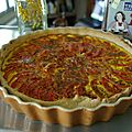 Un tour en cuisine n°114 tarte à la tomate
