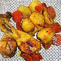 Pilons aux topinambours sauce miel canelle en tajine