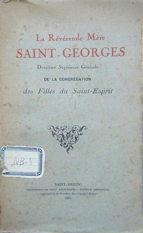 La révérende mère Saint-Georges