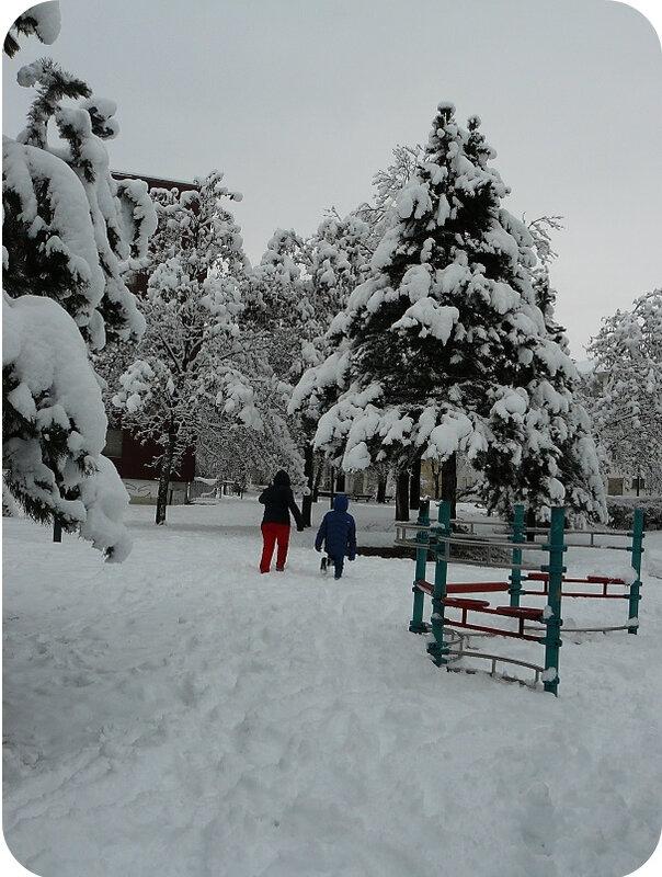 Quartier Drouot - Photo neige 41