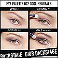 dior backstage eye palette cool neutrals 2