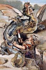 Sauroctones Siegfried et Fafnir