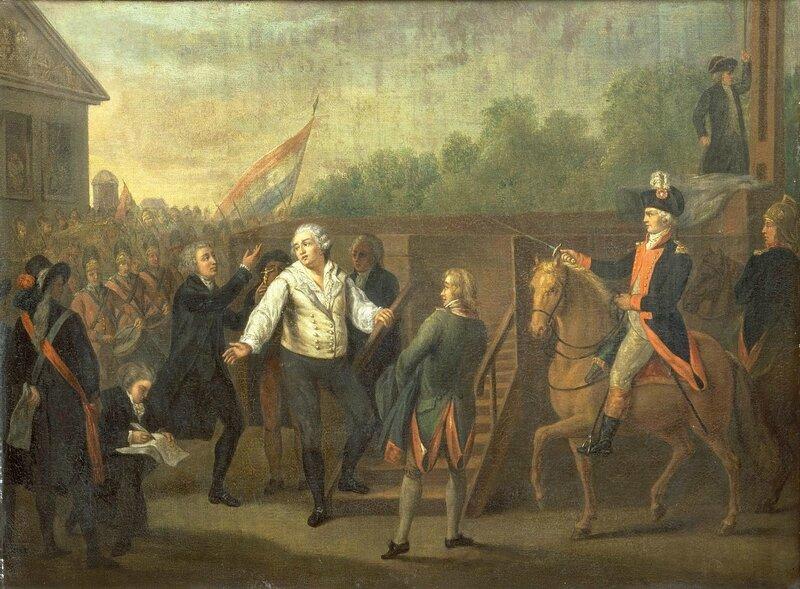 Louis XVI en montant sur l'échaffaud a-t-on des nouvelles de Monsieur de Lapérouse