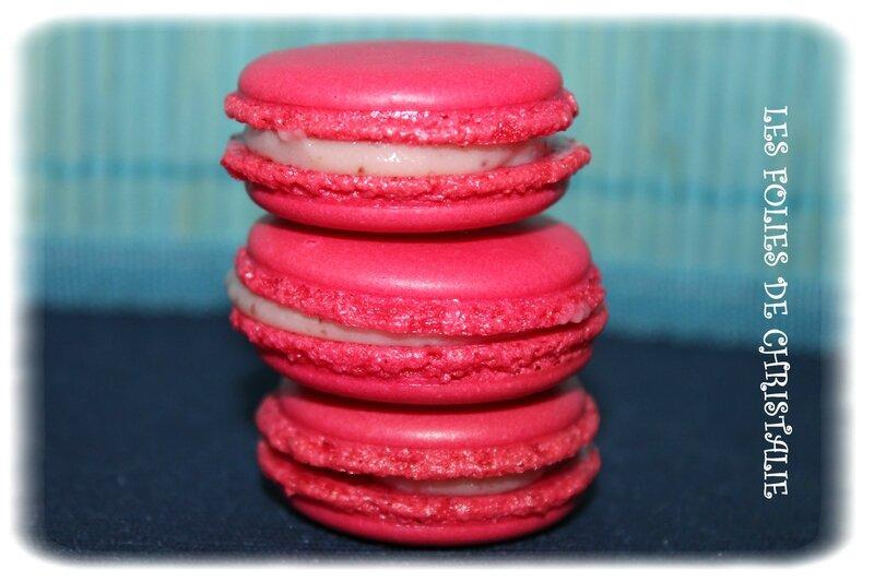 Macarons fraise 2