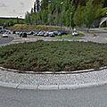 Rond-point à sandvika (norvège)