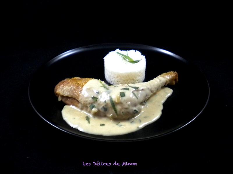 Cuisses de poulet à l'estragon 3