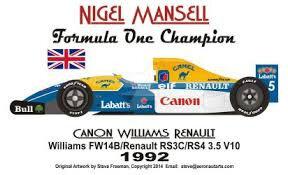 NIGEL 1992 CHAMP