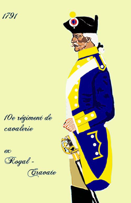 Vendôme, 14 juin 1791, cravate fraternelle.