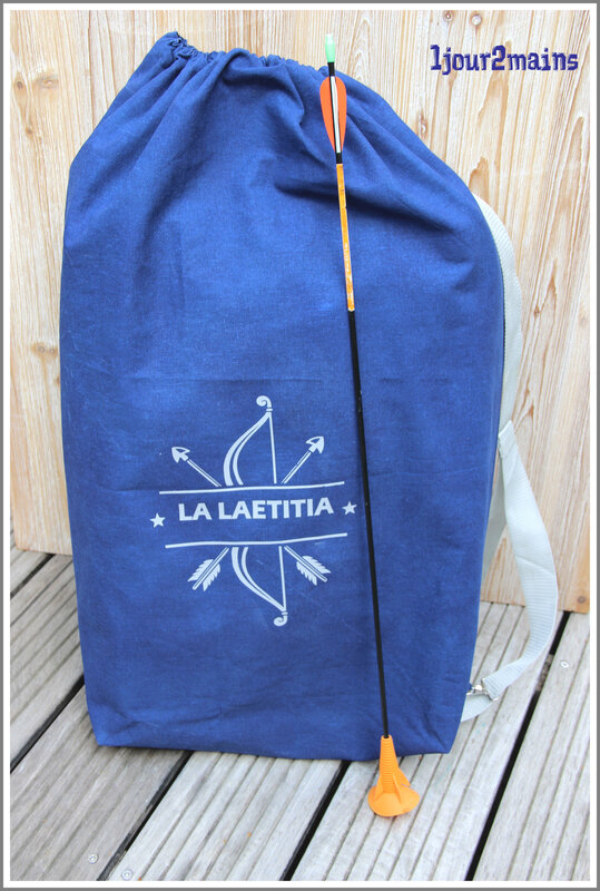 sac fleches laetitia