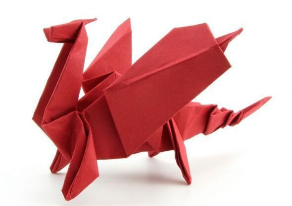 Simple Origami Dragon : 18 Steps (with Pictures) - Instructables | 418x590
