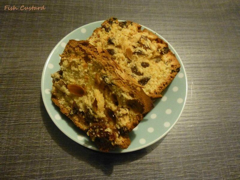 Plum cake aux raisins secs et rhum (28)