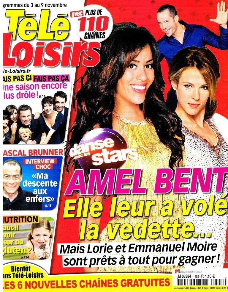 Télé Loisirs 3 nov 2012