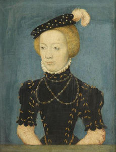 Marguerite duchesse de Berry d'après Corneille de Lyon (Chantilly)