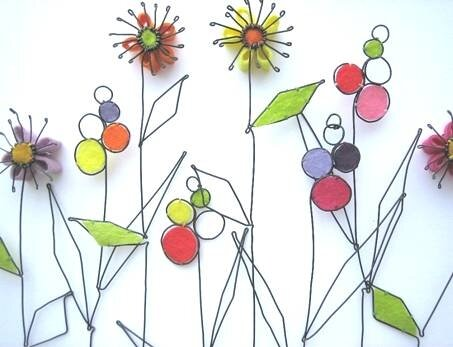 Défilé de fleurs du jardin!