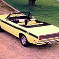 Sunfire Yellow… 1969 340 Barracuda convertible