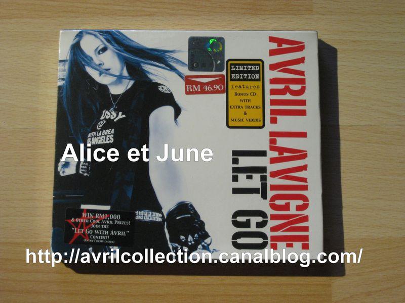 CD Let Go-édition spéciale Malaisie (2003)