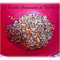 Bouchées chocolatées au flocon d'avoine et oranges confites