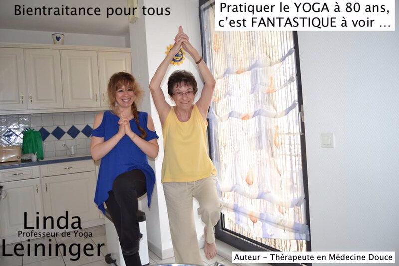 Linda Leininger Naturopathe - Linda Leininger Professeur de Yoga - 80 ans