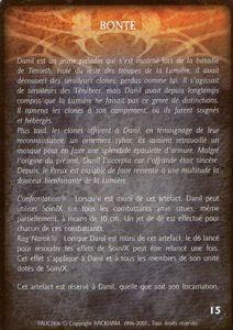 Danil le preux - Bonté (artefact)