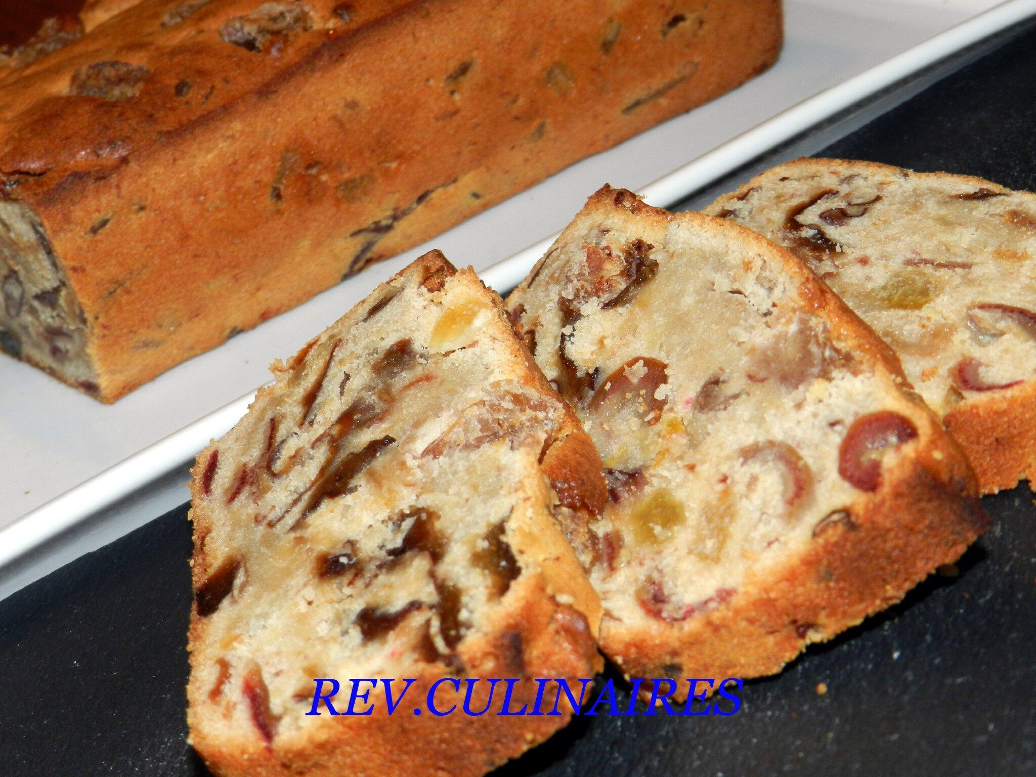 Cake pruneaux,dattes,marrons