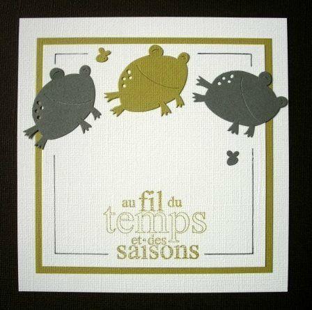 5 carte grenouille