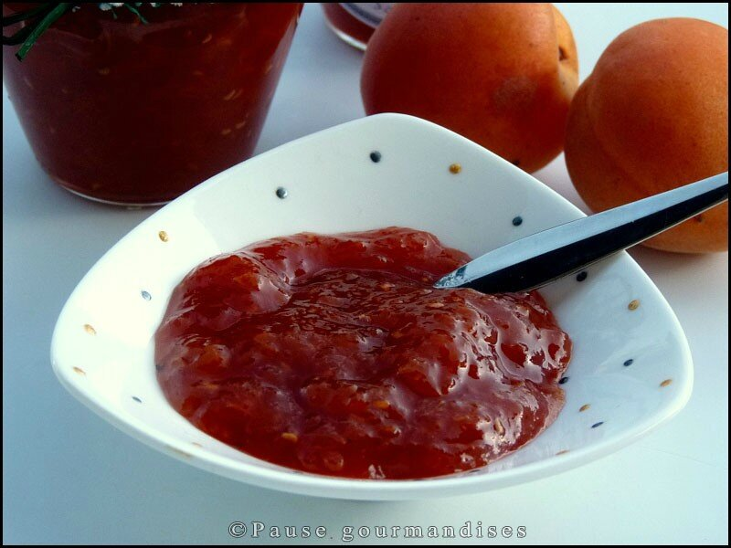 confiture abricot framboise thermomix