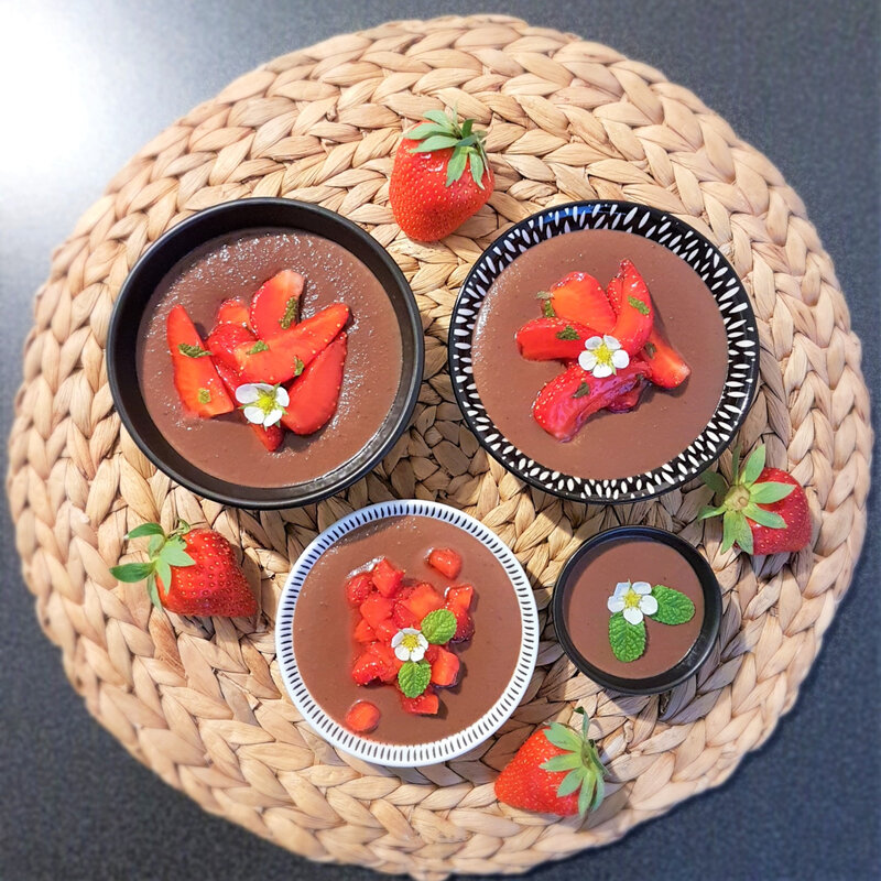 chez cathytutu cyril lignac tous en cuisine creme chocolat fraises menthe frmaboises anis (1) (2)
