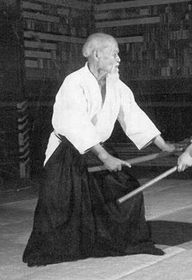 Morihei Ueshiba au boken