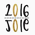 Bonne année et prochain rendez-vous