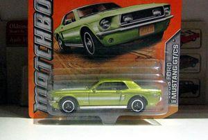 Ford mustang GT-CS de 1968 01