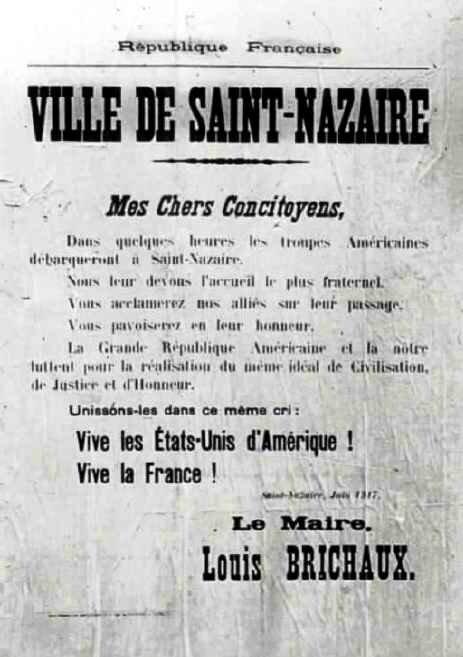 Affiche maire St Nazaire