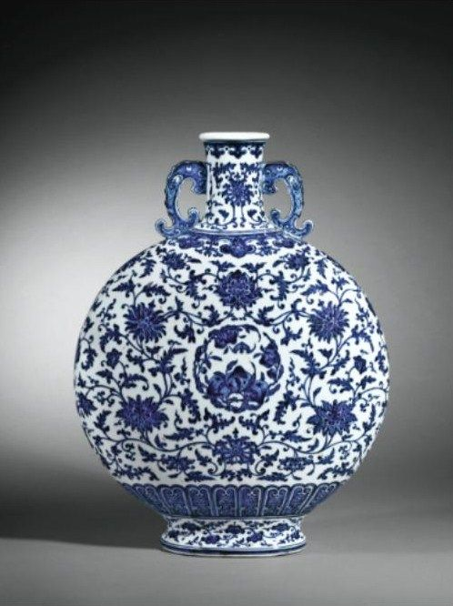 Several Major Pieces Of Porcelain Of The Ming And Qing Dynasties