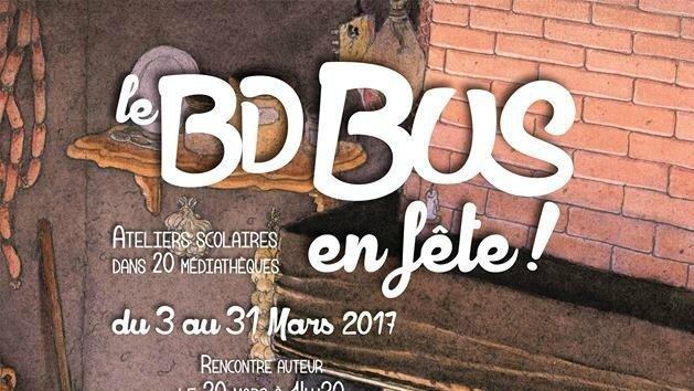 Un bus à bandes dessinées va sillonner le département de l'Oise tout le mois de mars