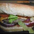 Hamburger gourmand aux céréales