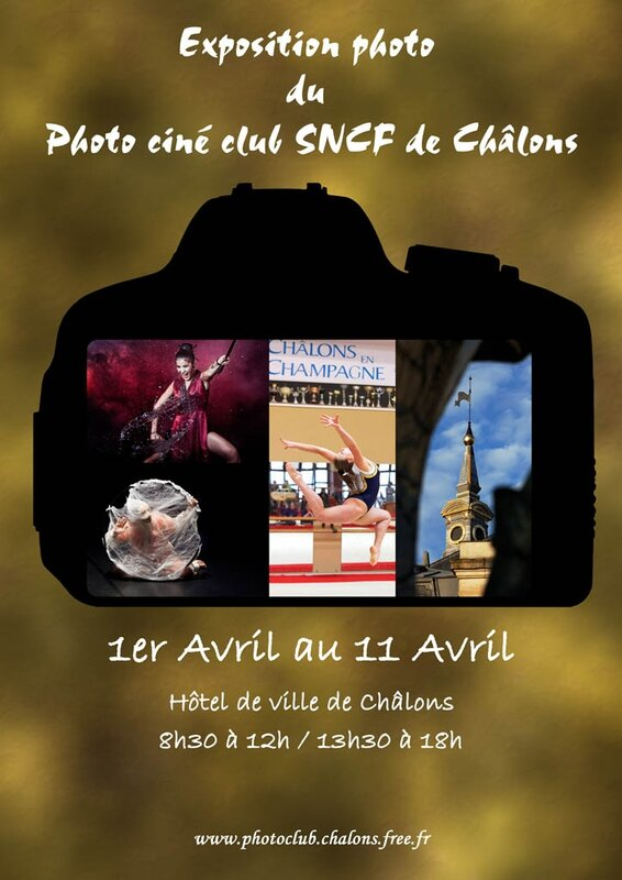 AFFICHE EXPO PHOTOS CHALONS 2014