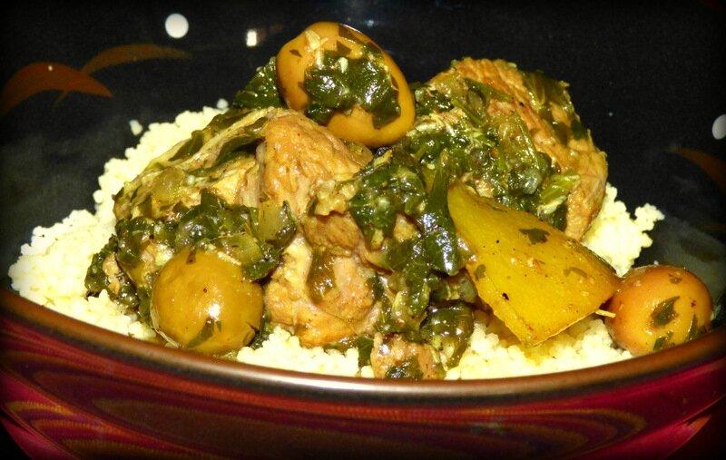 sauté de veau aux olives et citron confit