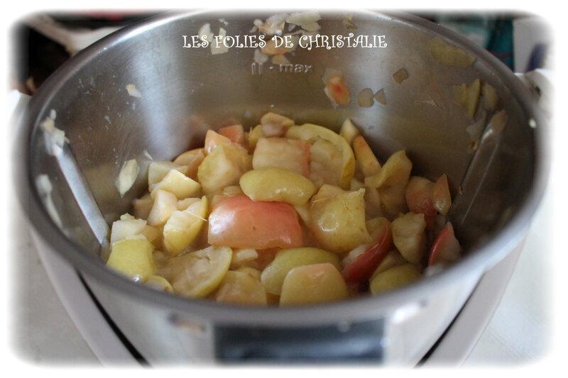 Compote de pommes 2