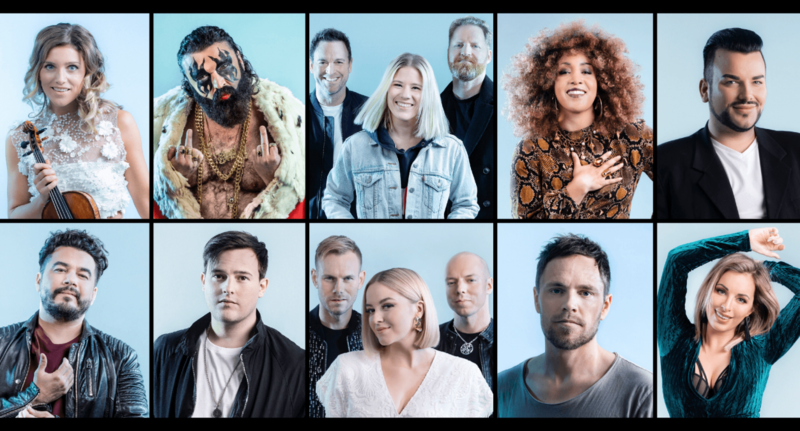 NO Melodi Grand Prix participants
