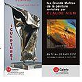 Vernissage samedi 14 avril // la galerie-mortagne au perche