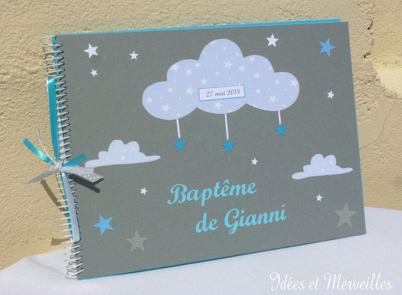 livre d'or nuage - idees et merveilles