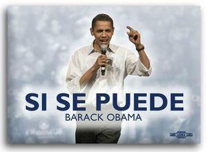 si se puede obama and hispanics