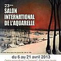 Sélection : 23è salon international de l'aquarelle d'uckange (fra)