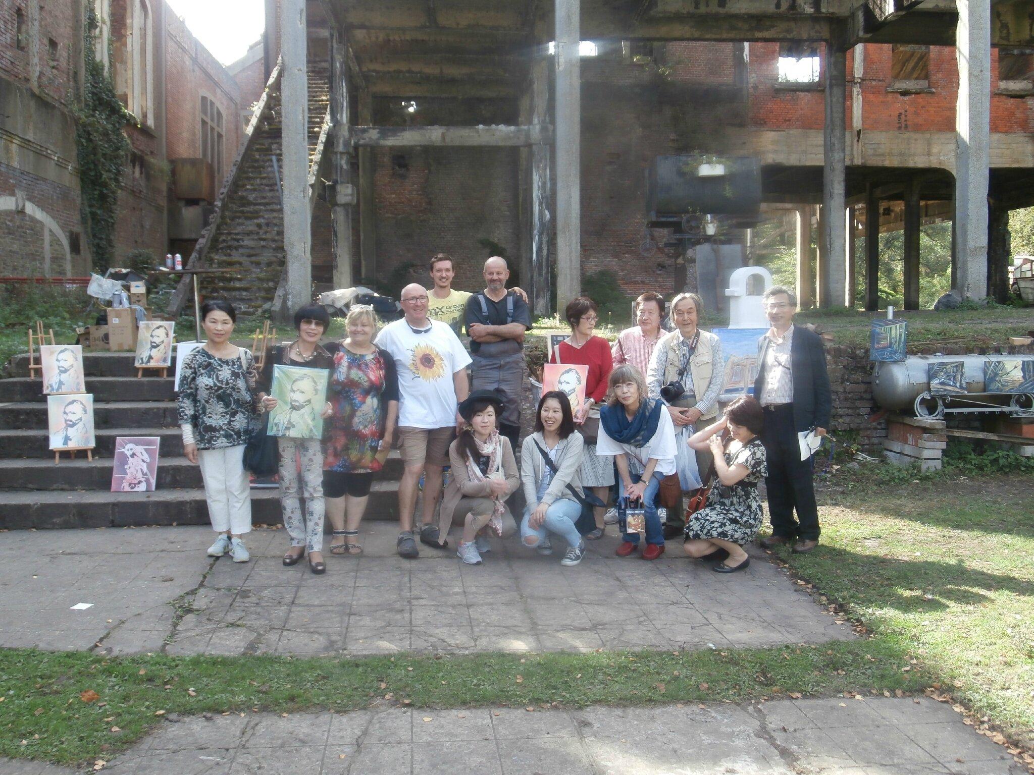 Japanese visit - 2016-09-10 - P9101919
