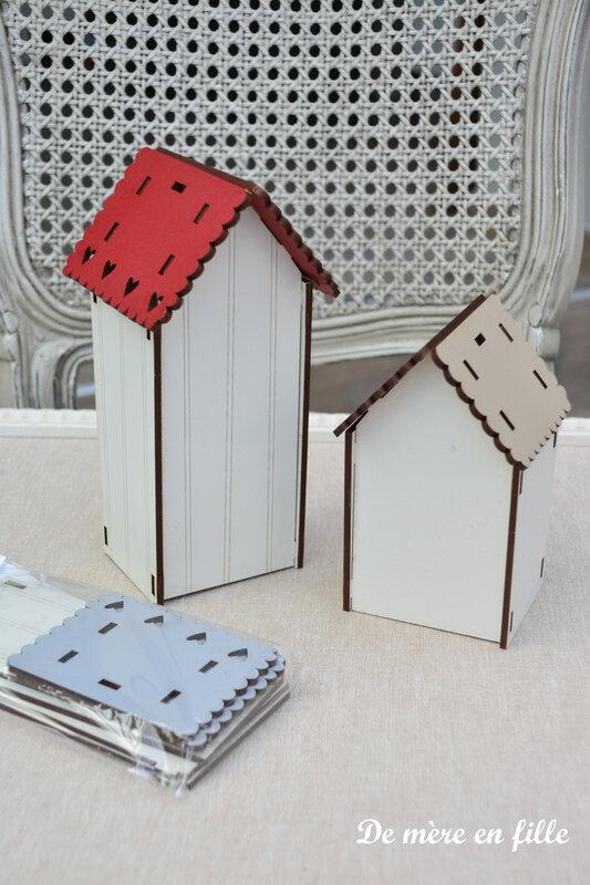 nichoirs toits colorés