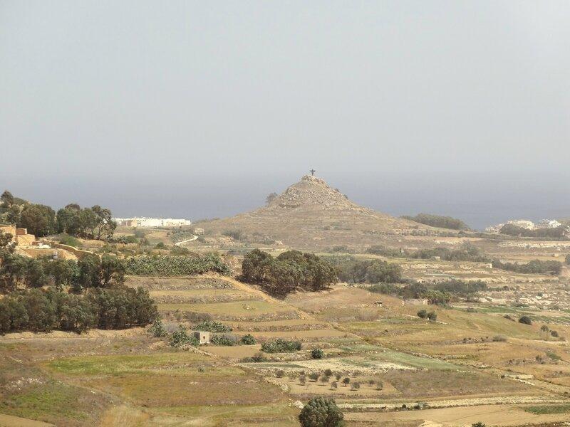 Panorama depuis la citadelle de Victoria (Gozo)