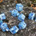 Cubes bleus